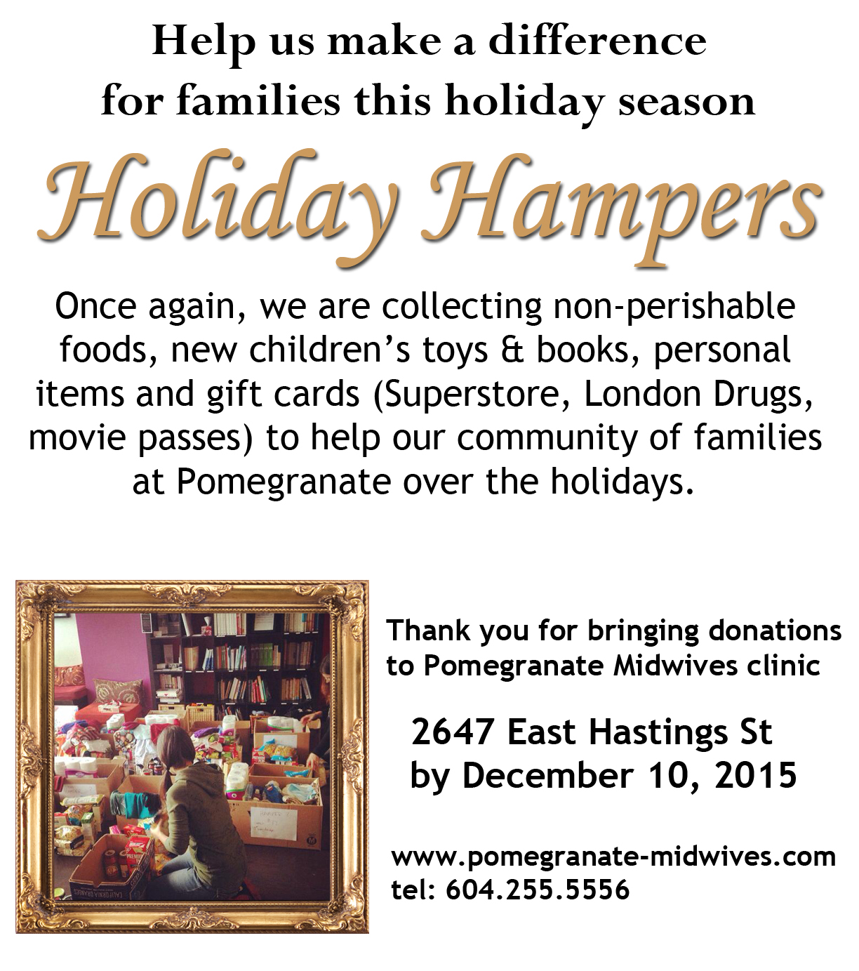Holiday hampers 2015 pomegranate reheart Image collections